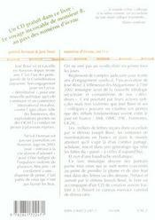 Numero D'Ecrou 20671 U ; Lettres Au Detenu Joseph Bove - 4ème de couverture - Format classique