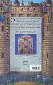 Le Chateau Medieval - 4ème de couverture - Format classique