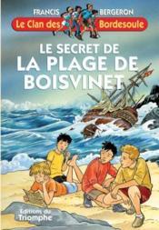 Le secret de la plage de Boisvinet - Couverture - Format classique
