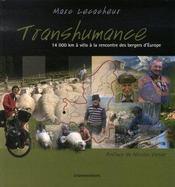Transhumance ; 14000 kilomètres à vélo à la rencontre des bergers d'europe - Intérieur - Format classique