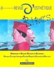 Revue D'Esthetique N.38 ; Rires - Couverture - Format classique