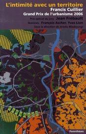 L'intimité avec un territoire ; francis cuillier, grand prix de l'urbanisme 2006 - Intérieur - Format classique