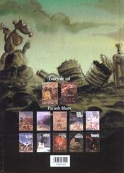 Pacush blues t.9 ; neuvaine : relecture du mythe de frankenstein renaissance - 4ème de couverture - Format classique