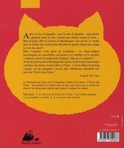 L'école des chats t.5 ; la montagne des âmes - 4ème de couverture - Format classique