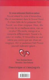 Poucet, le coeur en miettes - 4ème de couverture - Format classique
