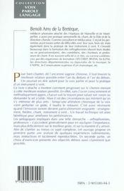 A L'Origine Du Son : Le Souffle - 4ème de couverture - Format classique