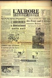Aurore France Libre (L') N°1231 du 28/08/1948 - Couverture - Format classique