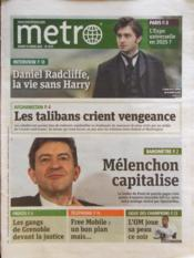 Metro Paris N°2173 du 13/03/2012 - Couverture - Format classique