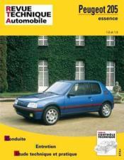 Rta 707.2 Peugeot 205 Essence 1.6/1.9 84/97 - Couverture - Format classique