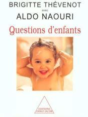 Questions D'Enfants - Couverture - Format classique