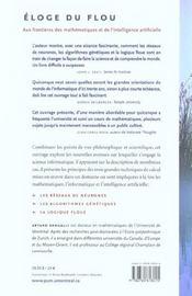 Éloge du flou ; aux frontières des mathématiques et de l'intelligence artificielle - 4ème de couverture - Format classique