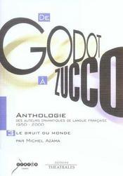 Anthologie Des Auteurs Dramatiques De Langue Francaise De 1950 A 2000 Vol 3 - Intérieur - Format classique