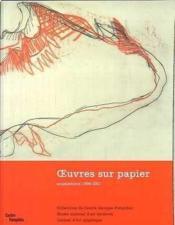 Oeuvres ; acquisitions du cabinet d'art graphique ; 1996-2000 - Couverture - Format classique