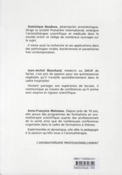 Les cahiers pratiques d'aromathérapie selon l'école francaise t.4; soins palliatifs - 4ème de couverture - Format classique