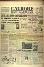 Aurore France Libre (L') N°1232 du 29/08/1948 - Couverture - Format classique