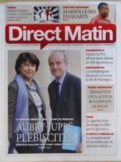 Direct Matin N°1049 du 14/03/2012 - Couverture - Format classique