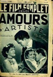 Le Film Complet Du Jeudi N° 1756 - 15e Annee - Amours D'Artiste - Couverture - Format classique