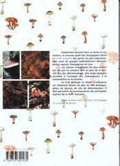 Nouveau guide des champignons ; 1000 espèces - 4ème de couverture - Format classique