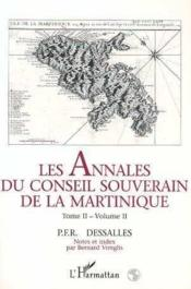Les annales du conseil souverain de la Martinique - Couverture - Format classique