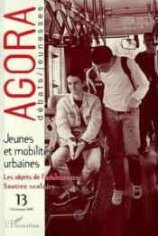 Jeunes et mobilités urbaines ; les objets de l'adolescence, soutien scolaire - Couverture - Format classique