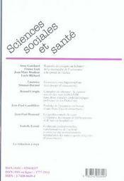 Rapports des usagers au Subutex® ; enquêtes épidémiologiques en France et aux Etats-Unis ; professionnels de santé et fusions hospitalières - 4ème de couverture - Format classique
