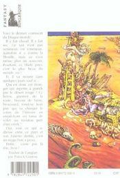 Les annales du disque-monde t.22 ; le dernier continent - 4ème de couverture - Format classique