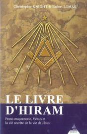 Le Livre D'Hiram - Intérieur - Format classique