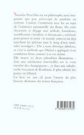 Rhetorique Fabuleuse - 4ème de couverture - Format classique