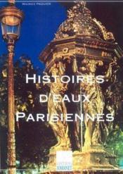 Histoires d'eaux parisiennes - Couverture - Format classique