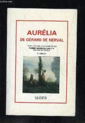 Aurelia De Gerard De Nerval - Couverture - Format classique