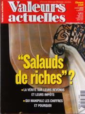 Valeurs Actuelles N°3928 du 14/03/2012 - Couverture - Format classique
