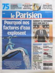 Parisien 75 (Le) N°20994 du 13/03/2012 - Couverture - Format classique