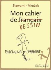 Mon cahier de français dessin - Couverture - Format classique