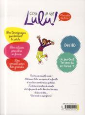 Lulu, une année en super forme ! - 4ème de couverture - Format classique