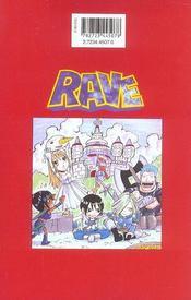 Rave t.10 - 4ème de couverture - Format classique