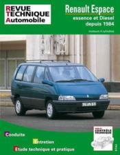 Rta 709.2 Renault Espace 4 Cyl. E&D (85/96) Td - Couverture - Format classique