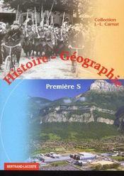 Histoire/geographie 1ere s - Intérieur - Format classique