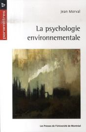La psychologie environnementale - Intérieur - Format classique