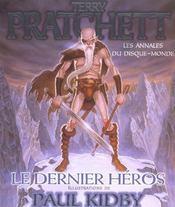 Les annales du disque-monde t.23 ; le dernier heros - Intérieur - Format classique