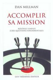 Accomplir Sa Mission - Intérieur - Format classique