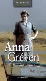 Anna De Greven - Couverture - Format classique