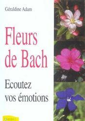 Fleurs De Bach - Ecoutez Vos Emotions - Intérieur - Format classique