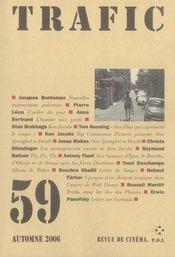 Revue Trafic T.59 ; Trafic N.59 - Intérieur - Format classique