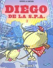 Diego de la S.P.A. t.2 - Intérieur - Format classique