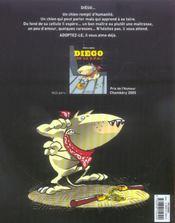 Diego de la S.P.A. t.2 - 4ème de couverture - Format classique