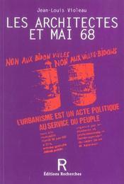Les Architectes Et Mai 68 - Intérieur - Format classique