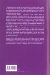 Les Architectes Et Mai 68 - 4ème de couverture - Format classique
