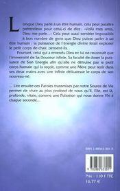 Dialogues Avec Dieu T.2 - L'Amour En Marches - 4ème de couverture - Format classique