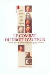 Combat Du Droit D'Auteur (Le) - Intérieur - Format classique