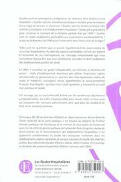 Le Droit Budgetaire Des Etablissements Publics De Sante Introduction Aux Finances Publiques Hospital - 4ème de couverture - Format classique